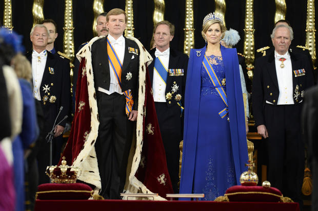 The inauguration of King Willem-Alexander