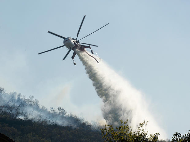 Calif. wildfire season starts early