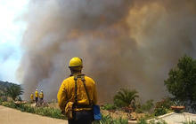 California's wildfires continue to burn