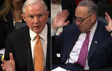 Schumer, Sessions spar over immigration, employment