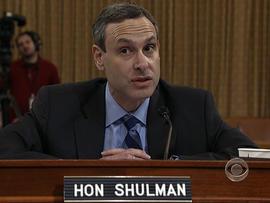 Ex-commissioner of the IRS Douglas Shulman.