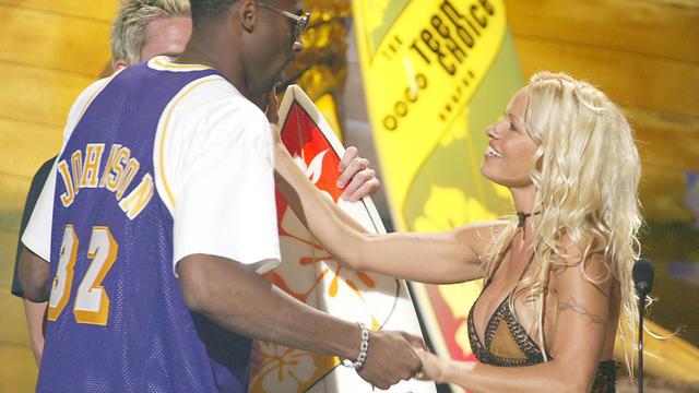 Kobe Bryant, Pamela Anderson