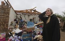Tornadoes rip through northern Texas