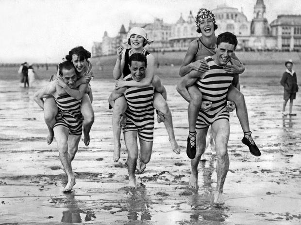 Swimwear through the ages