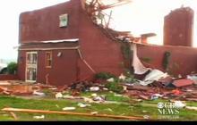 Video: Tornado destruction in Carney, Oklahoma