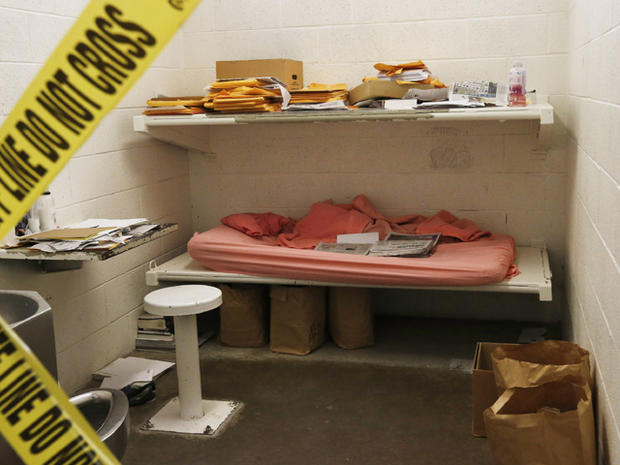 Photos: Inside the jail cell of Jodi Arias