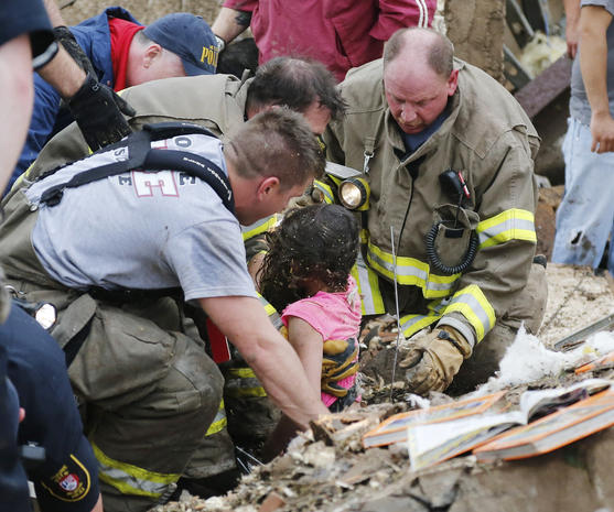 Children rescued from two elementary schools in Oklahoma