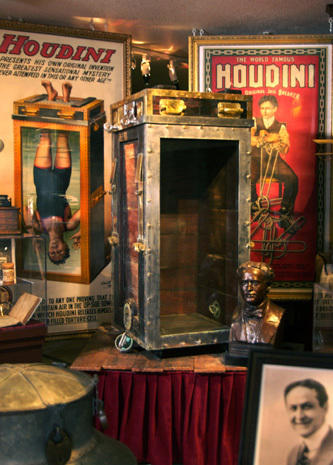 "David Copperfield's ""museum of magic"""