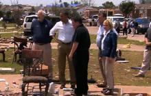 President Obama visits tornado-ravaged Moore, Okla.