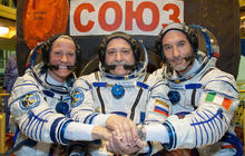 New crew arrives at space station