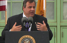 """""""Still a lot more work to do"""" in Sandy recovery, Christie says"""