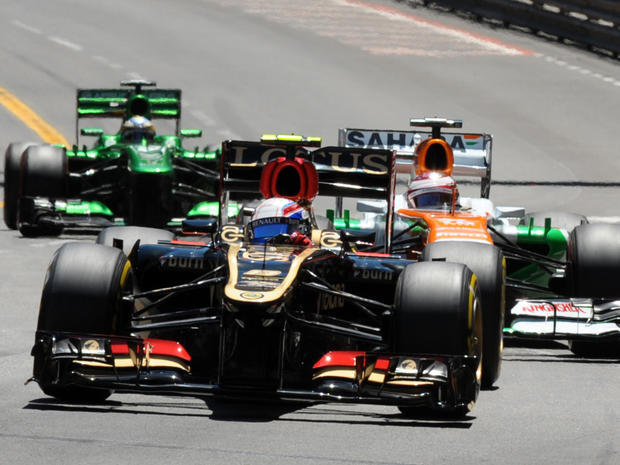 lotus, f1, race car, daft punk, monaco