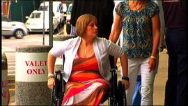 Erika Brannock, 29, is released from the hospital seven weeks after a bomb at the Boston Marathon took her leg.