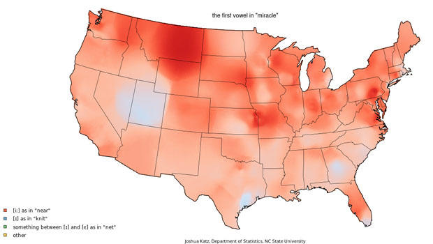 on caramel pronunciation map