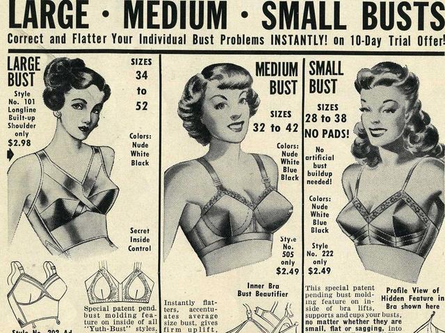 Vintage bra ads - CBS News