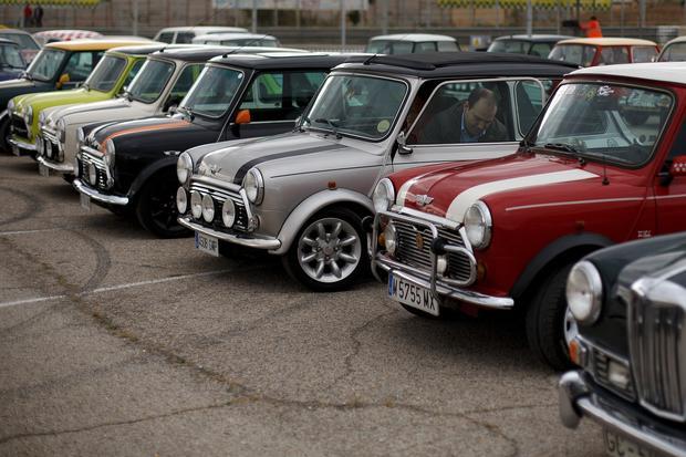 Vintage cars celebrated in Spain