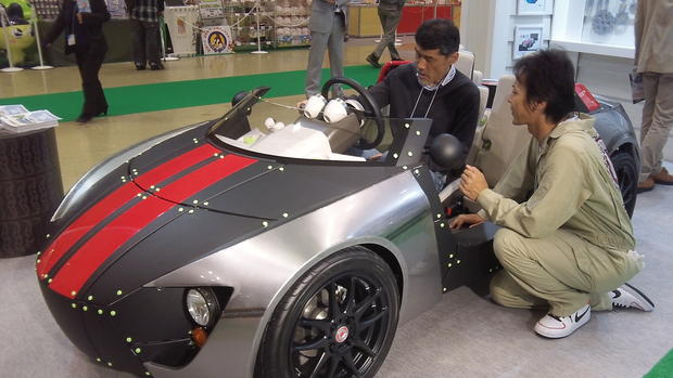 Toyoto makes cars for kids in Tokyo
