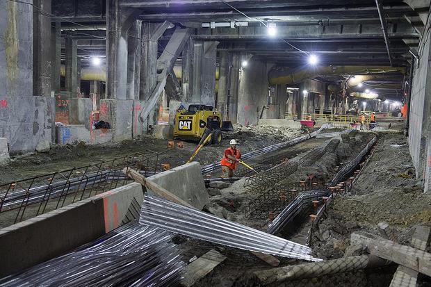 Firsthand look at MTA mega-digs