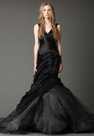 Vera Wang bridals, in black & white