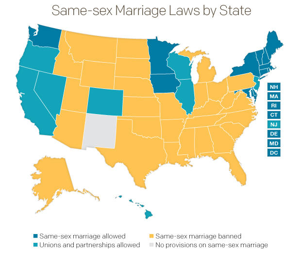 DOMA downfall: A basis to legalize marriage in states ... on new moon map, love wins map, inbreeding map, stages of life map, 9gag map, sovereignty map, numerology map, long trip map, family interaction map, metaphysical map, lawyers map, doctrine map, food issues map, middle class map, birth control map, modernism map, addiction map, heredity map, life calling map,