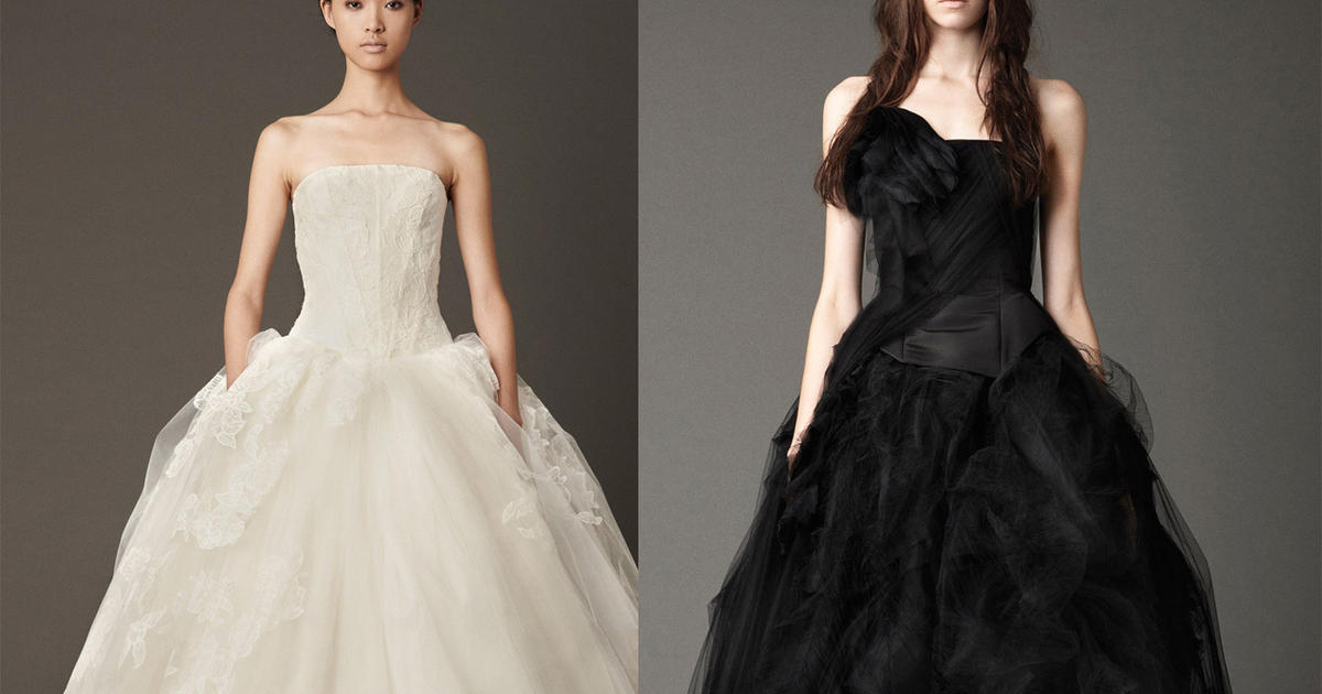 Vera Wang Bridals In Black White Cbs News