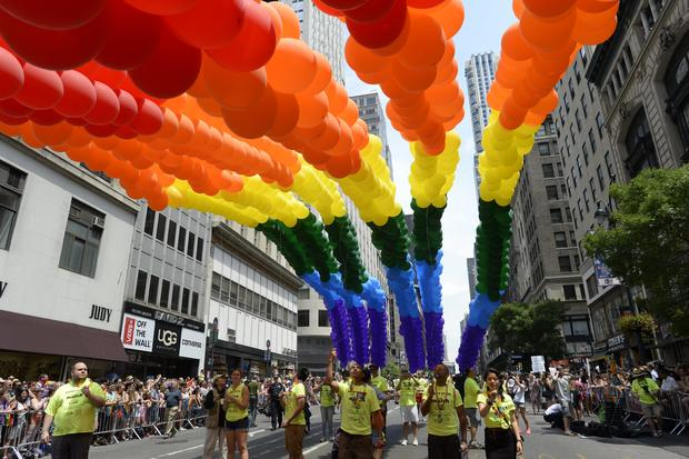 NYC Gay Pride March celebrates court wins