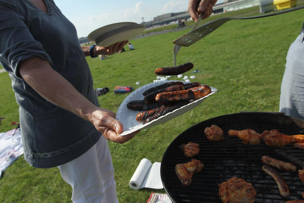 BBQ calories: How to burn off that hot dog