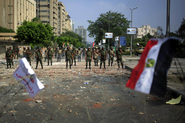 Deadly clashes erupt in Egypt