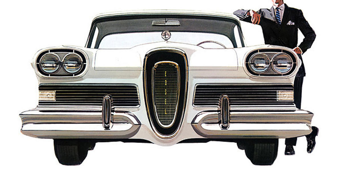 Ford Edsel - Epic, embarrassing product failures - Pictures