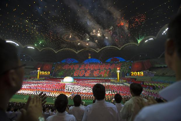 Pomp and spectacle in Pyongyang