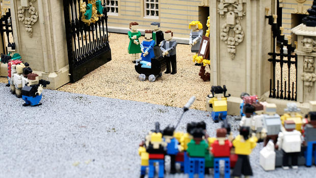 Prince George joins Legoland