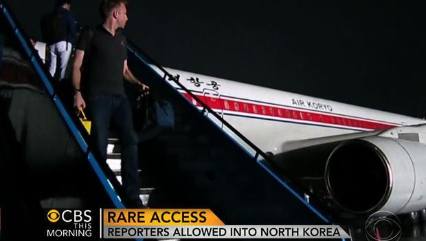 Seth Doane in North Korea