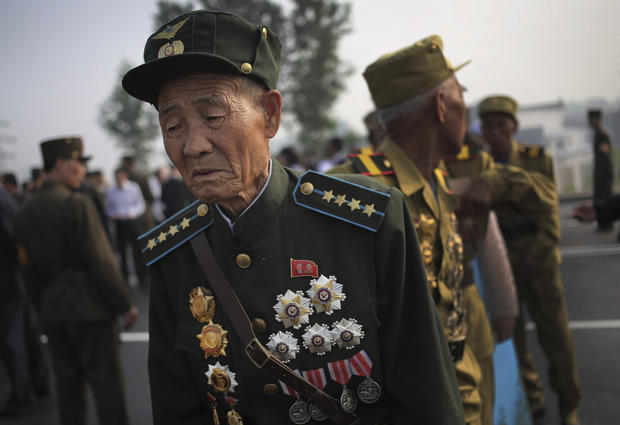 North Korea celebrates armistice