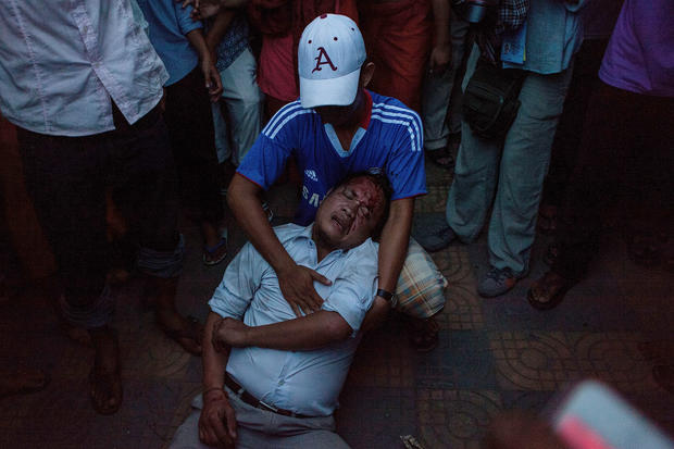 Tensions rise during Cambodian elections