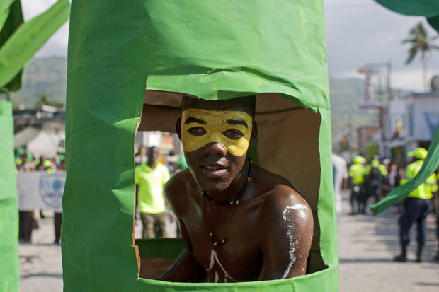 "Haiti's ""Carnival of Flowers"""