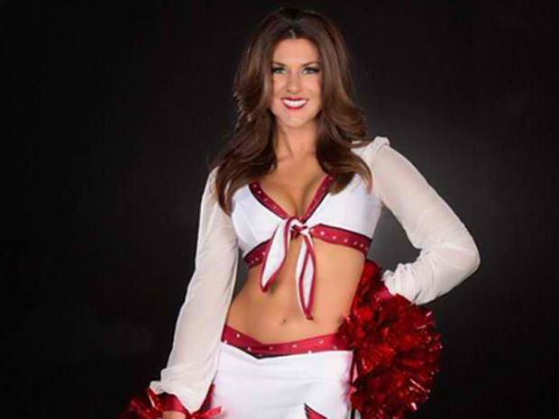 NFL cheerleader accused of assaulting boyfriend