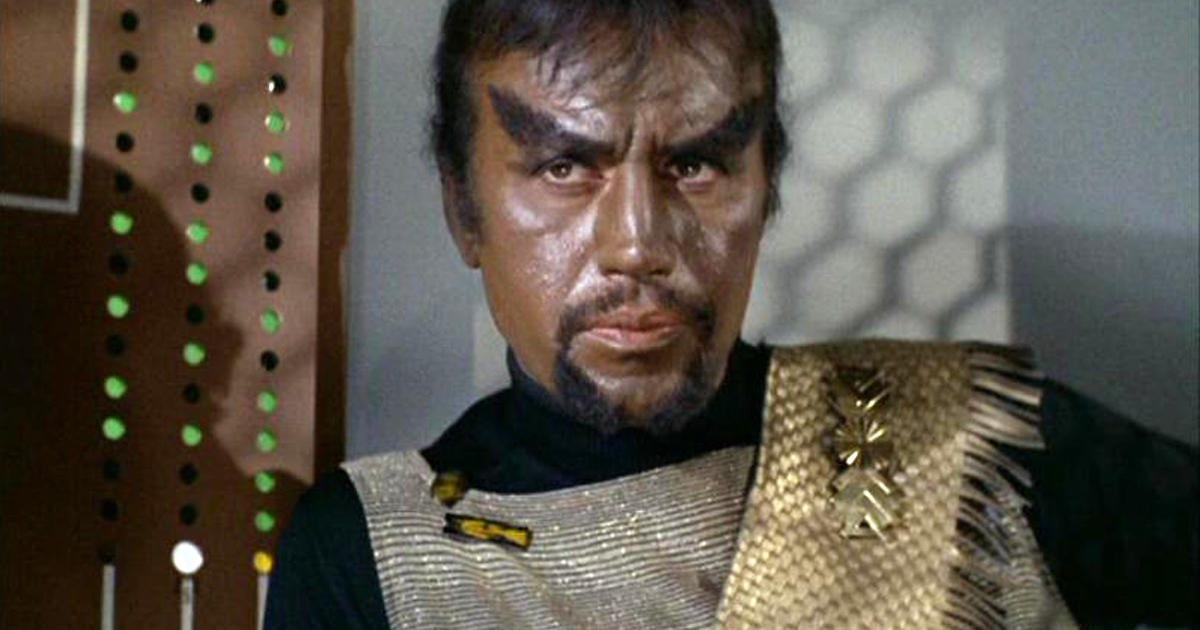 Michael Ansara Quot Star Trek Quot S Kang Dies At 91 Cbs News