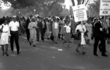Rare photos of the March on Washington