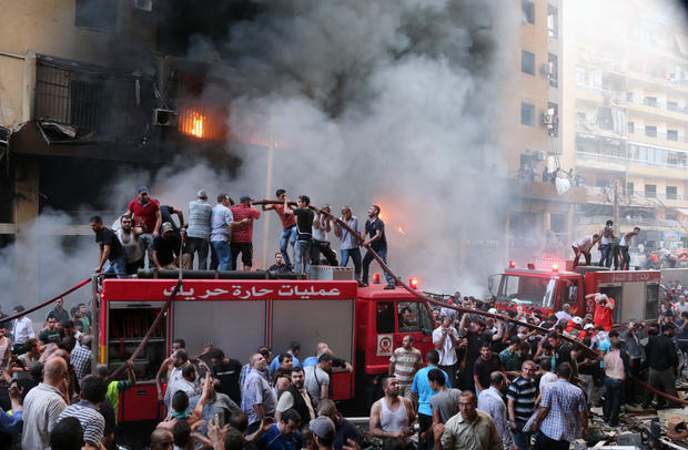 Deadly car bomb shakes Beirut