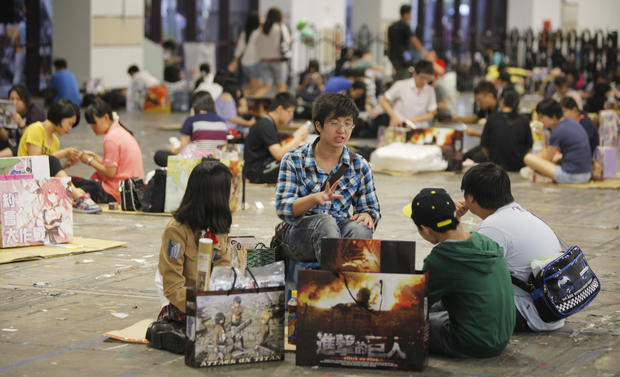 Comics fans gather in Taiwan