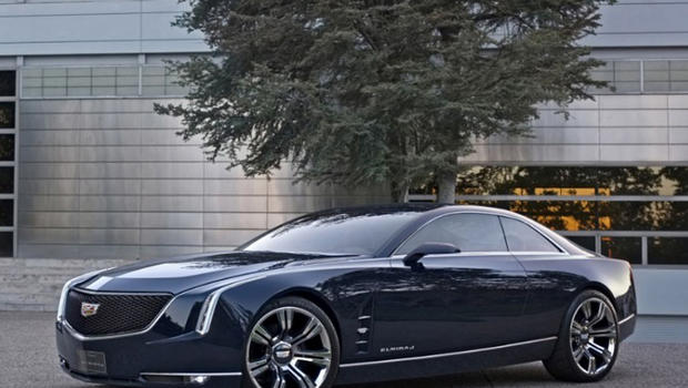 Cadillac shows off big two-door coupe concept car - CBS News