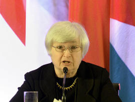 U.S. Federal Reserve Vice Chair Janet Yellen speaks at an international monetary conference in Shanghai June 3, 2013.
