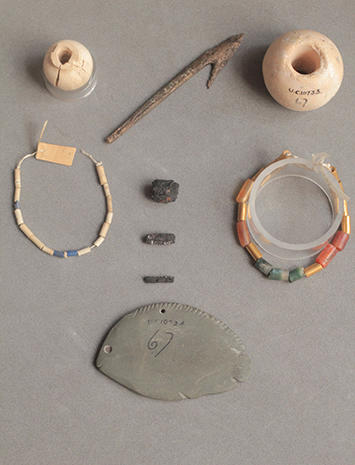 Ancient jewelry from space