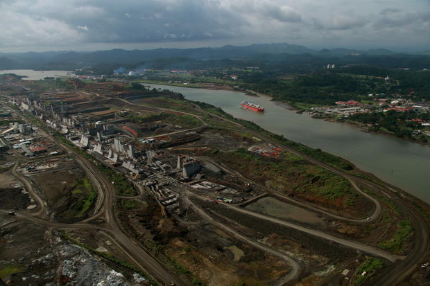 Breathtaking views of Panama Canal