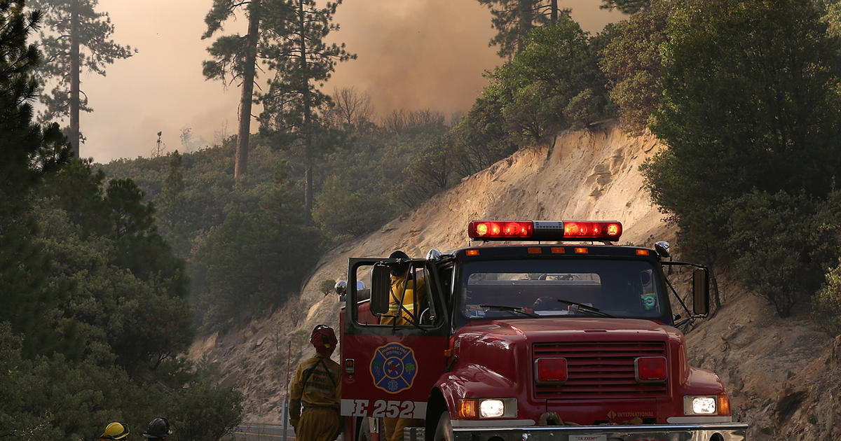 Yosemite fire swallowing everything in its path