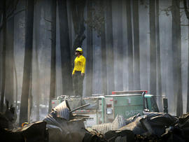 Firefighters say the Rim Fire is now 20 percent contained, and that is progress, but overnight, it grew by 30,000 acres.