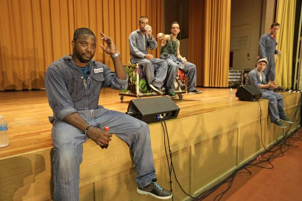 Rappers perform Shakespeare behind bars