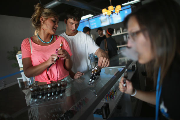 E-cigs surge in popularity