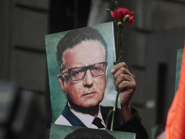 Salvador Allende, chile