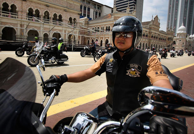 Harley riders unite in southeast Asia